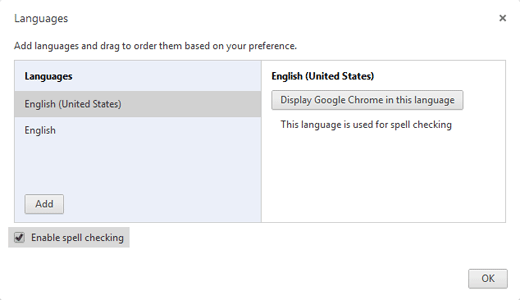 enable-spell-check-chrome
