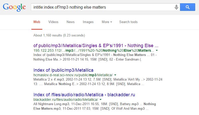 google-search-mp3