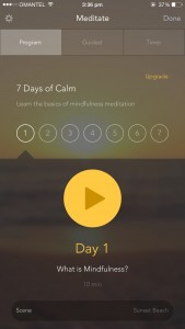 Free iPhone App_Calm