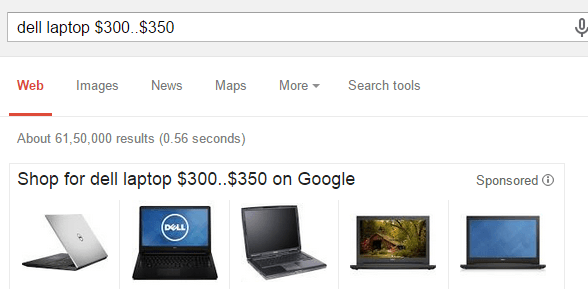 price-range-search-google