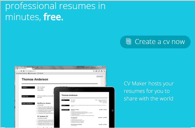 top 16 best online resume making websites