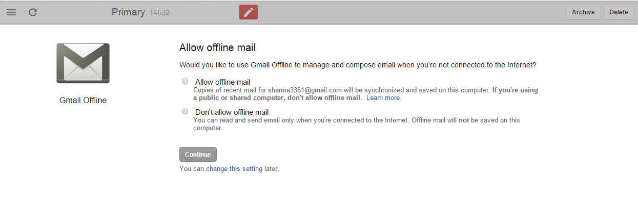enable-offline-gmail