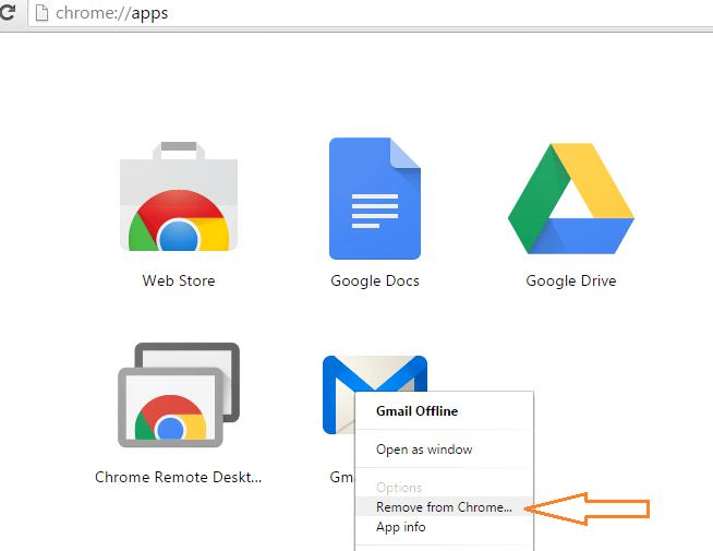 remove-offline-gmail