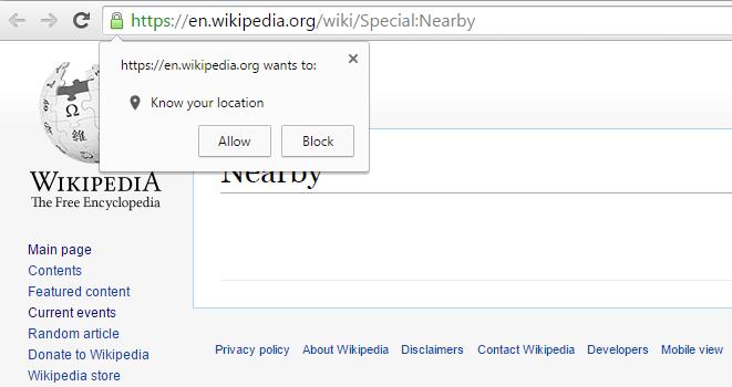 wikipedia-nearby