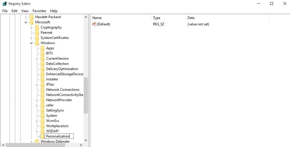Personalization-key-name