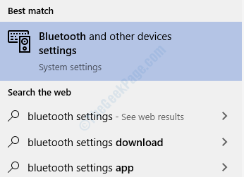 Bluetooth Settings
