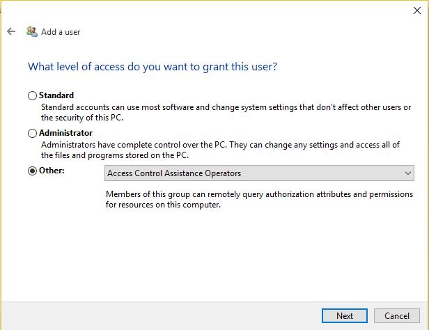 new user creation windows 10_6