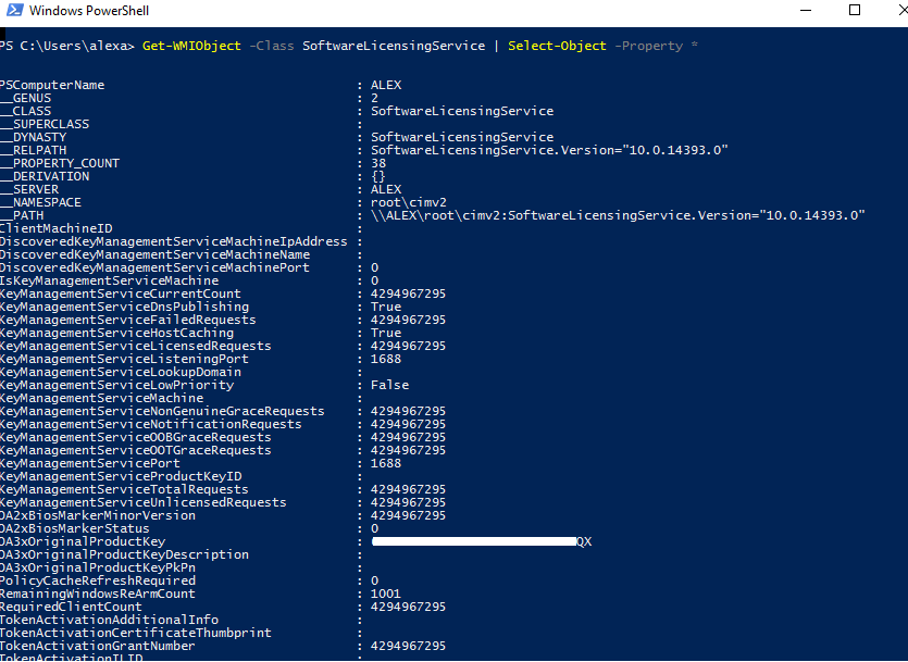 product-key-powershell