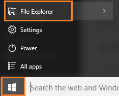 reach-file-explorer-start-key