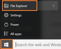 reach-file-explorer-start-key