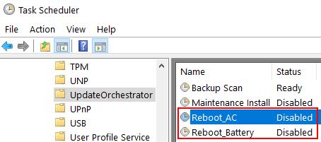 Reboot Ac Disabled Min