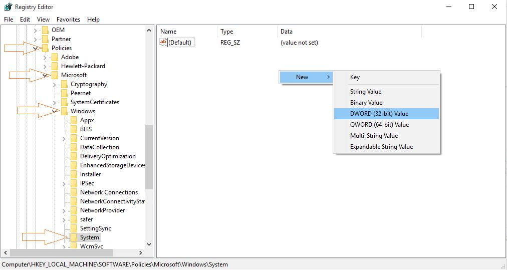 registry-disable-login-screen