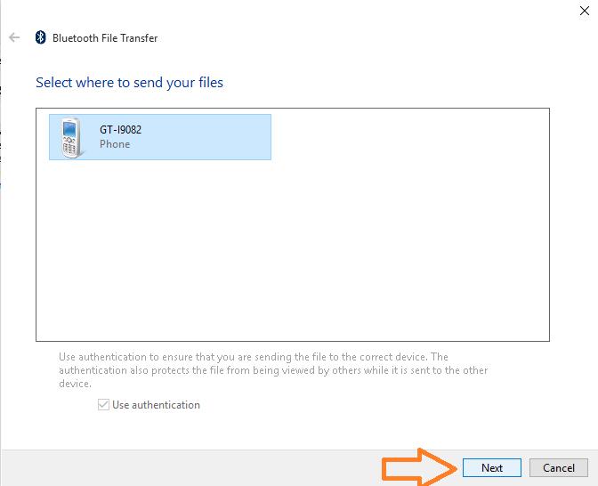 send-file-bluetooth