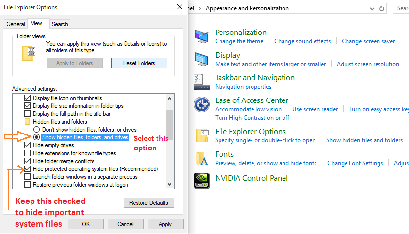 show-hidden-files-windows-10