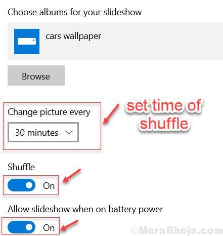 Shuffle Time Desktop