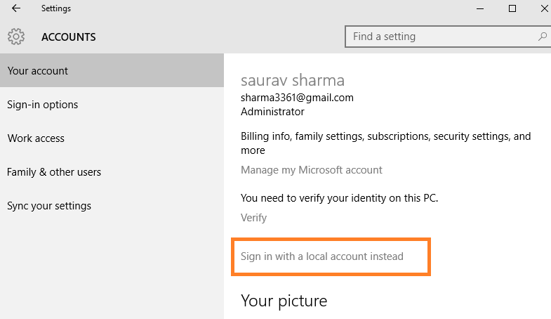 sign-with-local-account