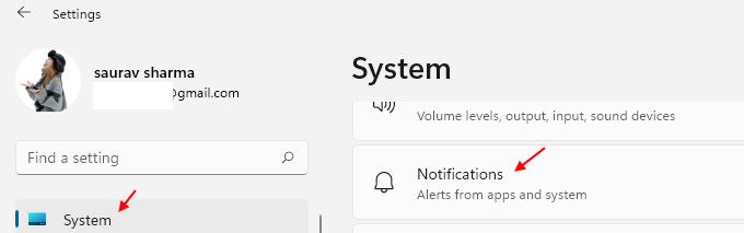 System Notifications Windows 11 Min
