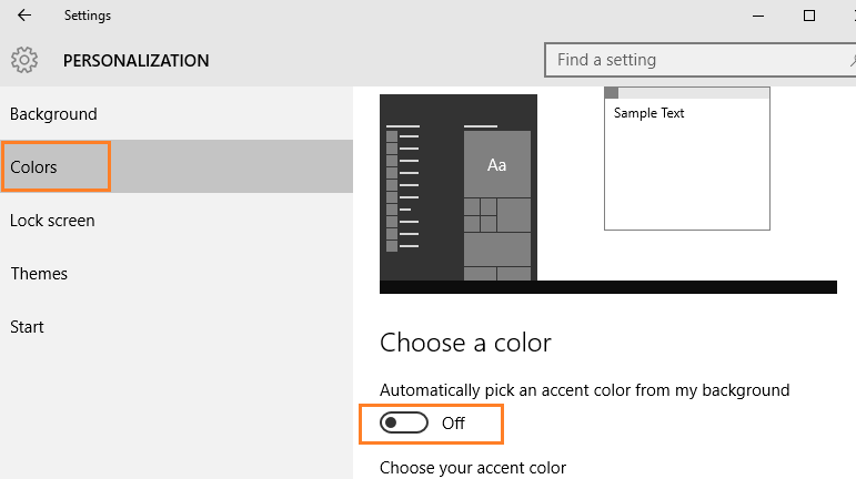 turn-off-automatic-color