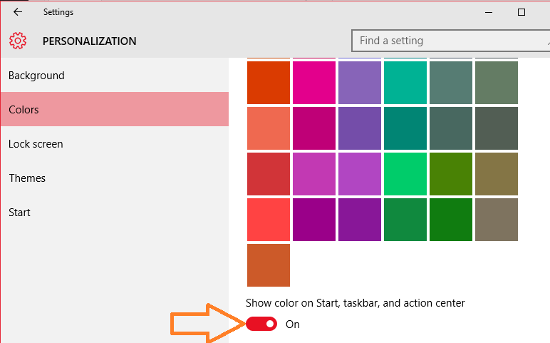 turn-on-setting