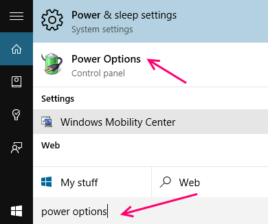 power-options-win-10
