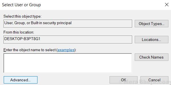 Advanced User Select