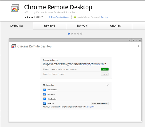 chrome-remote-desktop-sharing