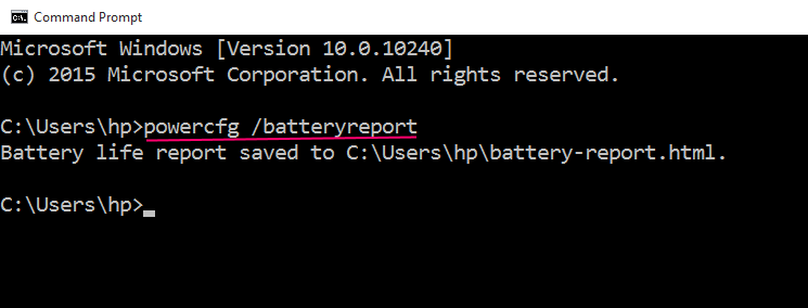 command-battery-report-win-10