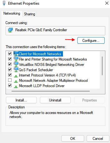 Configure Min