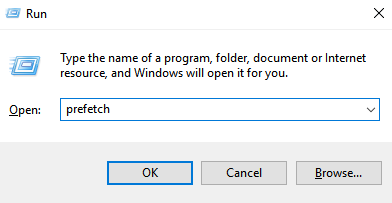 Delete Prefetch Files Windows 10 11