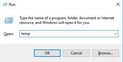 Delete Temp Files Windows 10 1
