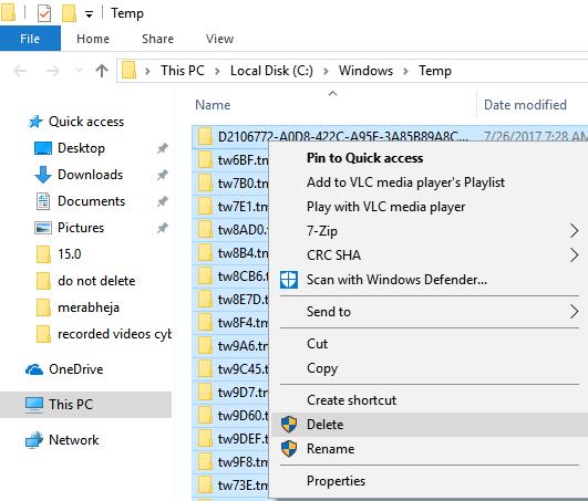 Delete Temp Files Windows 10 11