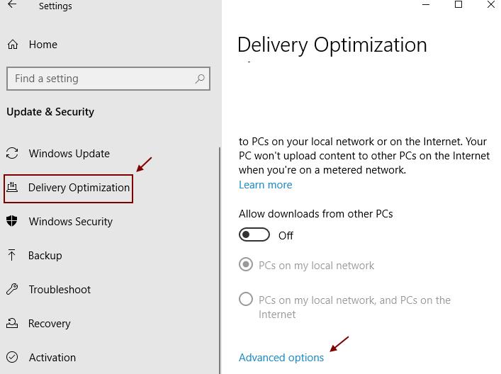 Delivery Optmization Min
