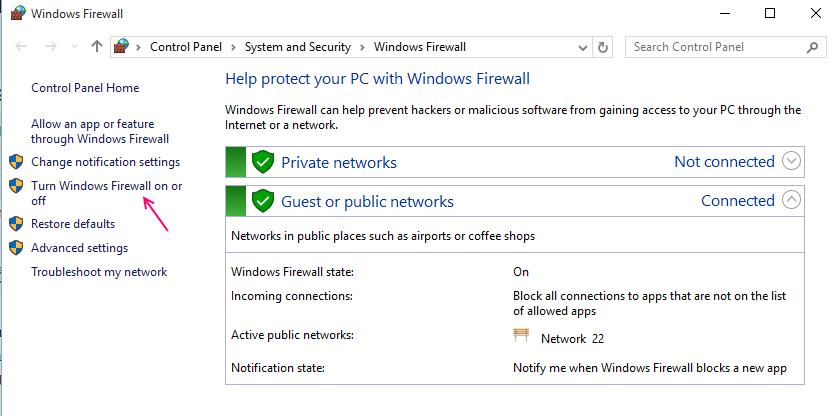 disable-firewall