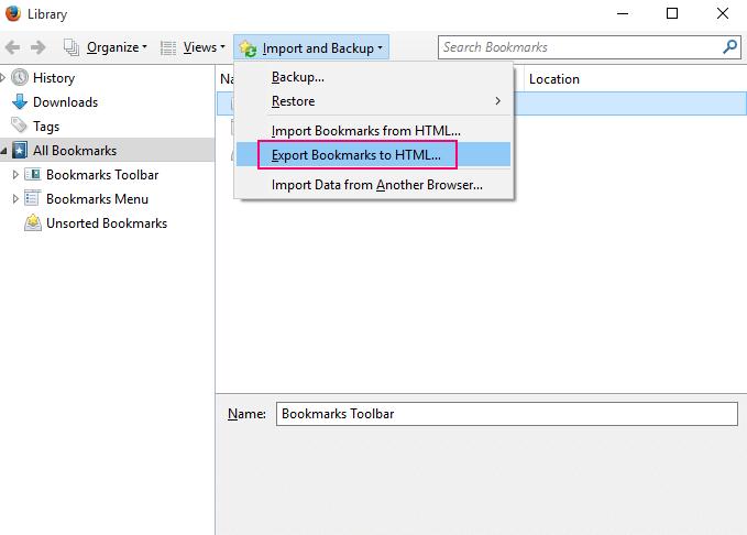 firefox-bookmark-html