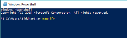 magnifier-powershell