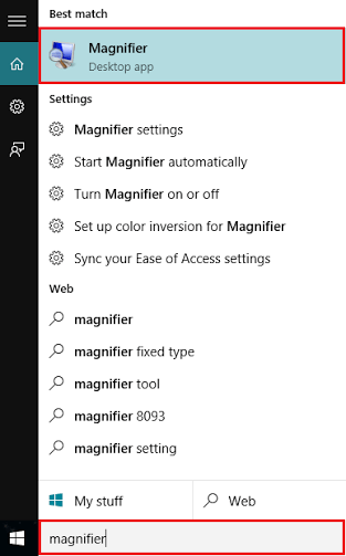 magnifier-search