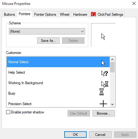 mouse-pointer-scheme