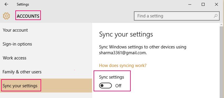 off-sync-win-10