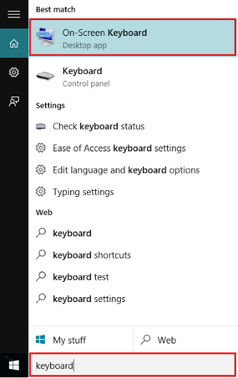 disable keyboard sound windows 10