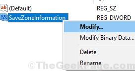 Savexoneinformation Modify