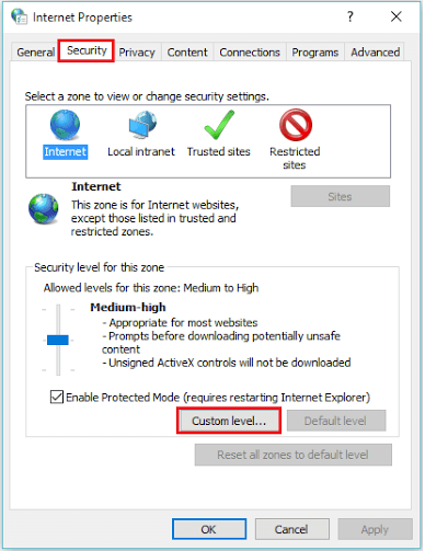 security-tab