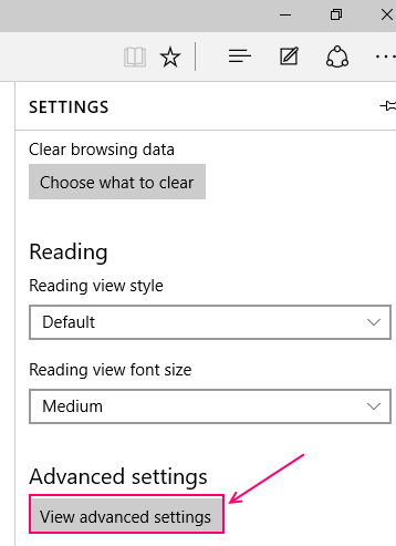 view-advanced-settings