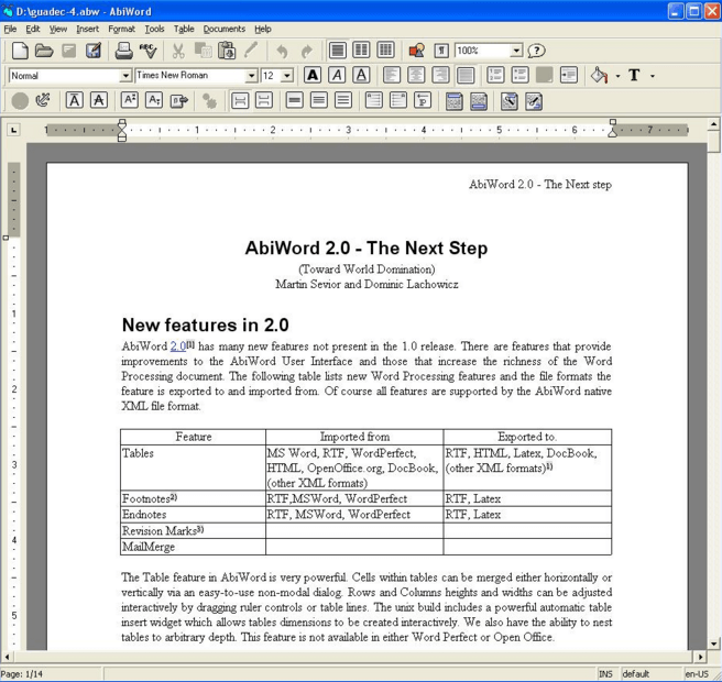 8 Free Best Microsoft Word alternatives you can use