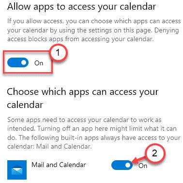 Allow Apps To Calendar Min