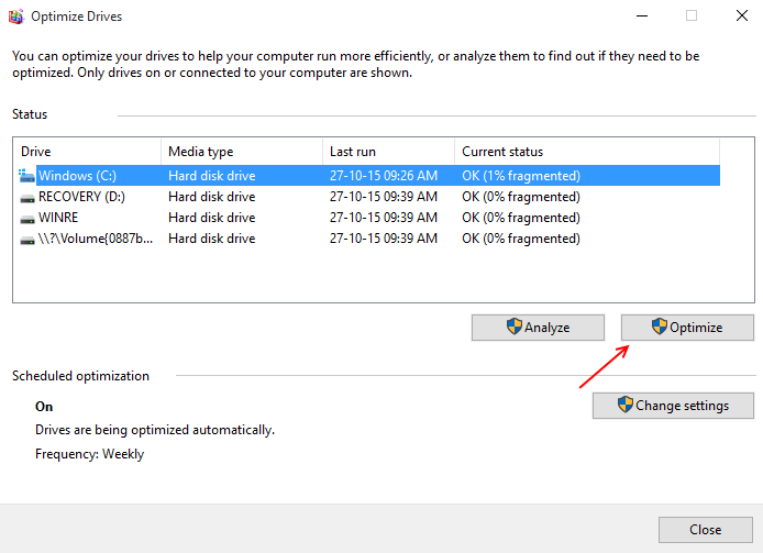 defragmentation-windows-10-start