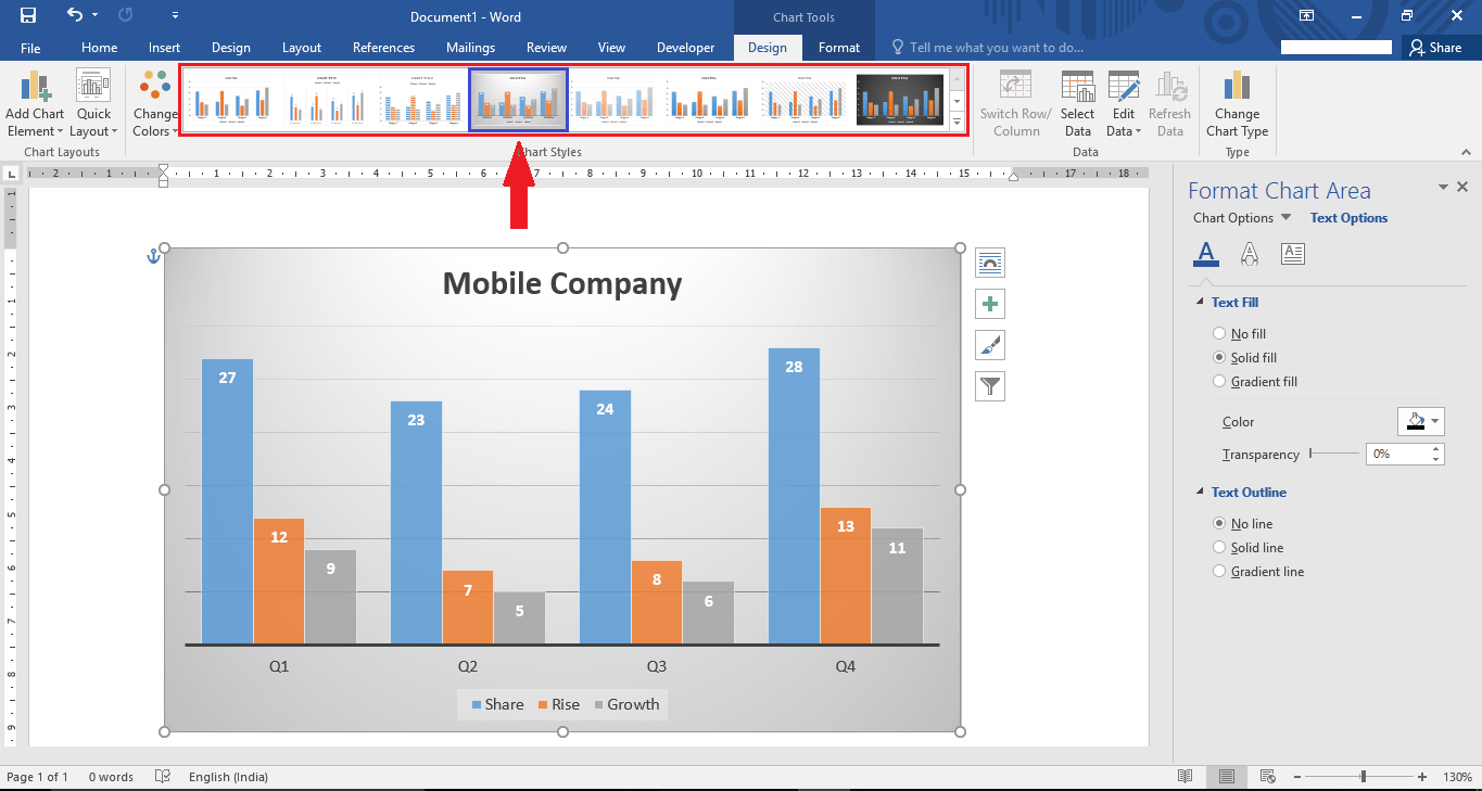 How to edit insert a chart in microsoft word 2016 edit insert chart microsoft word 2016 12 ccuart Gallery