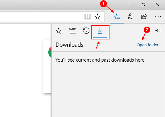 Microsoft Edge Download Folder Location