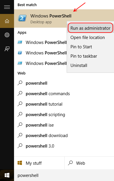 powershell-admin