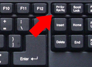 Print Screen Key For Screenshot