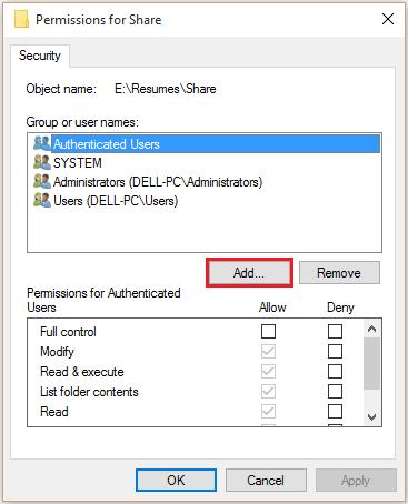 share-folder-windows-10-8